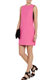 Victoria, Victoria Beckham Wool-blend crepe mini dress