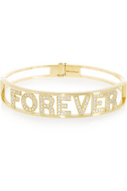 Spallanzani Jewels Forever 18-karat gold diamond bracelet