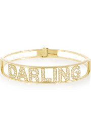 Spallanzani Jewels Darling 18-karat gold diamond bracelet