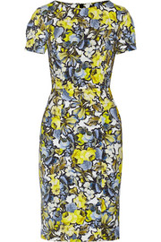 Joyce floral-print stretch-twill dress