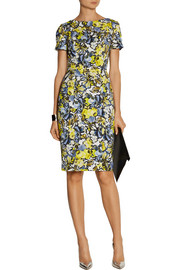 Erdem Joyce floral-print stretch-twill dress