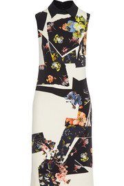 Erdem Floral-print stretch-crepe dress