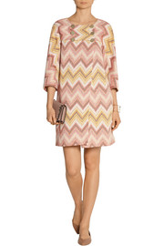 Missoni Zigzag crochet-knit coat