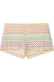 Missoni Crochet-knit shorts