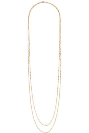 Figaro gold-plated neckace