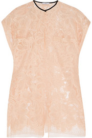TOME Split lace top