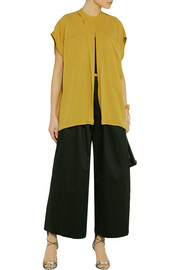 TOME Silk-crepe top