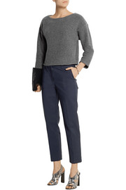 Theory Edasha Amazingly felted wool-blend sweater