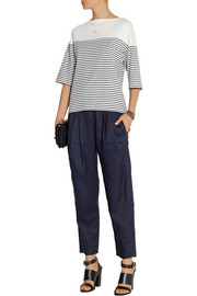Theory Kathisa ramie tapered pants
