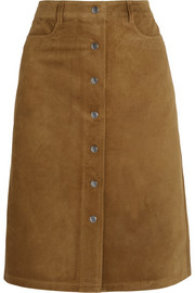 Pemma suede skirt