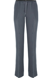 Theory Pajeema silk straight-leg pants