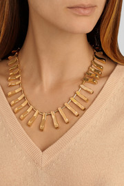 Lele Sadoughi Arcade gold-plated necklace