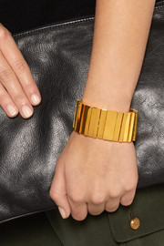 Lele Sadoughi Mini Stairwell gold-plated cuff