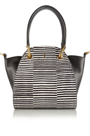 Maiyet Peyton mini watersnake and leather shoulder bag