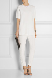 Derek Lam Cashmere and stretch-knit top