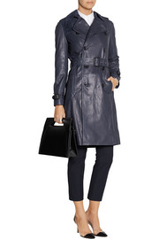 Joseph Townsend leather trench coat