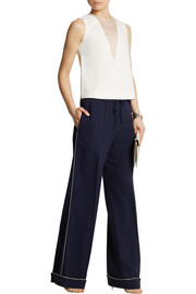 Joseph Luna stretch-crepe wide-leg pants