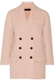 Jean wool and cashmere-blend coat
