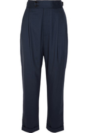 Dean stretch-wool tapered pants