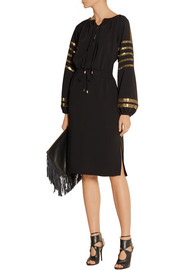Altuzarra Arabella sequin-embellished crepe dress