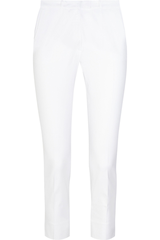 Joseph Pantalon skinny en coton mélangé stretch raccourci