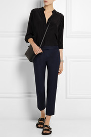 Joseph Cropped stretch-gabardine slim-fit pants