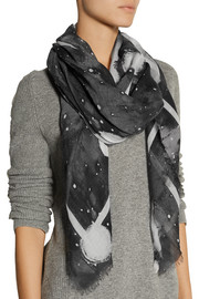 Marc by Marc Jacobs Stargazer printed modal scarf