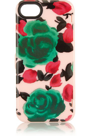 Floral-print iPhone 5 case