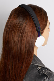 Marc by Marc Jacobs + Urbanears Humlan Oil Slick headphones