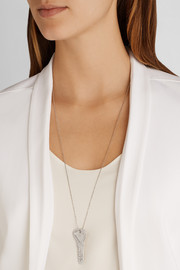 Carolina Bucci 18-karat white gold necklace