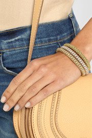 Carolina Bucci Twister set of three gold-plated bracelets