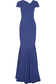 Otley stretch-crepe gown