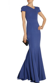 Roland Mouret Otley stretch-crepe gown