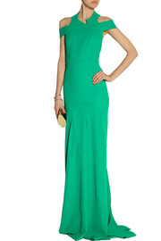 Roland Mouret Barkby stretch-crepe gown