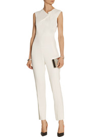 Buxton cutout stretch-crepe jumpsuit