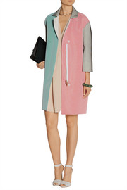 Roland Mouret Paddington color-block crepe coat