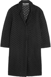 Paddington honeycomb-mesh coat