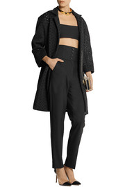 Roland Mouret Paddington honeycomb-mesh coat