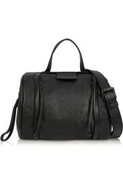 Marc by Marc Jacobs Moto textured-leather shoulder bag