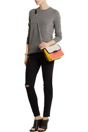 Marc by Marc Jacobs Rebel color-block leather shoulder bag