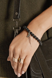 Chan Luu Horn and diamond charm bracelet