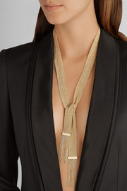 Carolina Bucci Woven 18-karat gold necklace