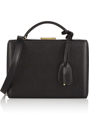 Mark Cross Grace textured-leather shoulder bag