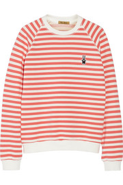 + Peter Jensen Mariner striped cotton sweatshirt