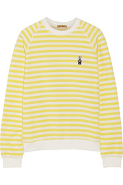 Finds + Peter Jensen Mariner striped cotton sweatshirt