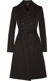 Lirky cotton-blend gabardine trench coat