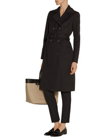 The Row Lirky cotton-blend gabardine trench coat