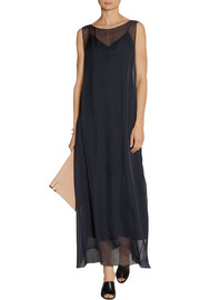 The Row Anmar chiffon dress