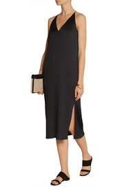 The Row Lahel plissé midi dress