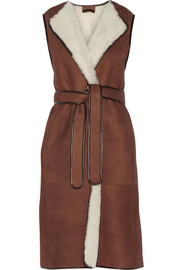The Row Krimby shearling gilet